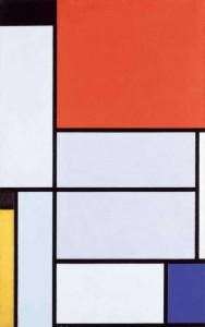 Tableau 1 Piet Mondriaan